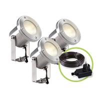 Garden Lights Strahler Catalpa 3er Set