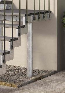 DOLLE Gardentop Stütze Podest bis 150 cm Höhe