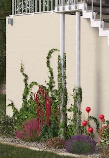 DOLLE Gardentop Stütze Podest bis 300 cm Höhe