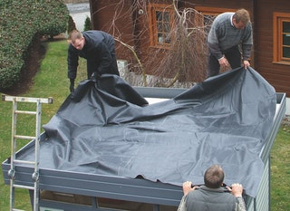 EPDM Folienset Nr. 16 - 305 x 625 cm