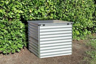 Vitavia Komposter Tomma mit herausnehmbarer Seitenklappe und Klappdeckel