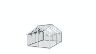 Vitavia Frühbeet Zola mit 4 Dachfenstern  B 124 x T 89 x H 71 cm