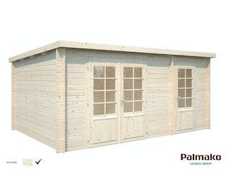 Palmako Gartenhaus Ella 13,1 m² Zweiraumhaus - 28 mm