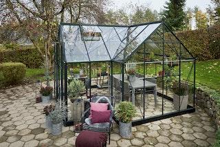 Halls Gewächshaus Garden Room - 12,9 m²