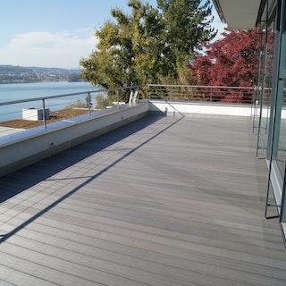 FUN-Deck Ultrashield® WPC-Terrassendiele Multigrey dark, Vollprofil