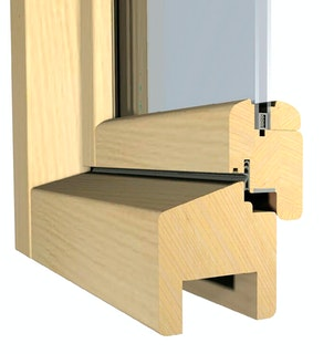 """Infraworld Fenster, 78 x 83 cm, Drehkippbeschlag, """"Standard"""""""