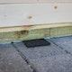 Feuchtigkeitssperre / Gummigranulat Unterleg-Pads für Gartenhäuser 48 Stück