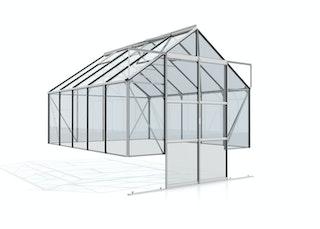 Vitavia Gewächshaus Cassandra 8300 inkl. 4 Dachfenstern - 8,3 m²