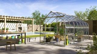 Vitavia Gewächshaus Dione/Diana 11500 inkl. 4 Dachfenster - 11,5 m²