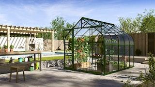 Vitavia Gewächshaus Dione/Diana 8300 inkl. 2 Dachfenster - 8,3 m²