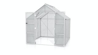 Vitavia Gewächshaus Domus 6700 inkl. 2 Dachfenstern - 6,7 m²