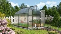 Vitavia Gewächshaus Domus 8300 inkl. 4 Dachfenstern - 8,3 m²