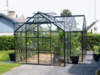Vitavia Gewächshaus Sirona/Sirius Orangerie inkl. 4 Dachfenstern - 13,0 m²