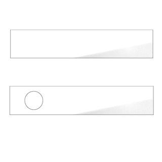 GRIFFWERK FRAME 1.0 INLAY GLAS weiße Rückseite-Paar