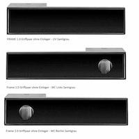 GRIFFWERK Griffpaar FRAME 1.0 ohne Einleger - Design Manufaktur