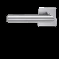 GRIFFWERK Drückergarnitur Smart2lock LUCIA PIATTA S QUATTRO- Edelstahl matt