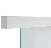 GRIFFWERK Schiebetürsystem PLANEO 40 COMFORT Wand-Montage - Edelstahl-Optik matt