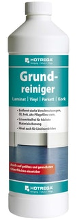 Hotrega Grundreiniger Laminat/Parkett/Kork/Vinyl 1 Liter Flasche (Konzentrat)