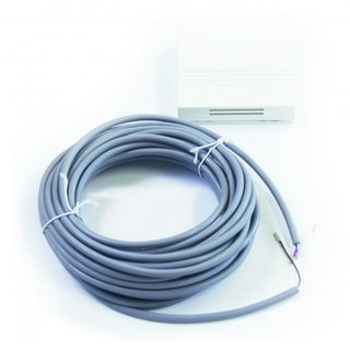 HAAS+SOHN Wohnraum-Temperaturfühler WRF 04 mit 8m Kabel