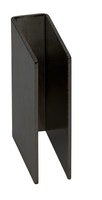 Infraworld Haftblech schwarz 8 mm