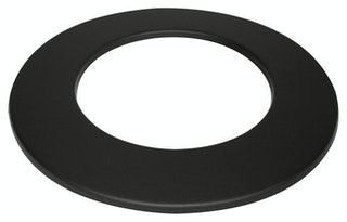JUSTUS Rosette, schwarz, Ø150 mm