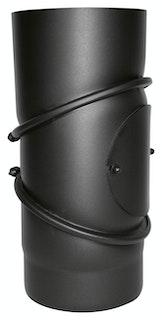 JUSTUS Rohrbogen, schwarz verstellbar, Ø150 mm