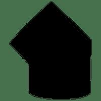 JUSTUS Rohrbogen 45°, gussgrau, Ø150 mm