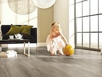 HANDMUSTER  Decolife Nature Designboden PVC frei Ash Oak Landhausdiele