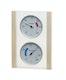 Infraworld Klimamessstation mit Glas-Holzrahmen in Espe