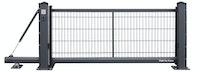 Kraus SLIGHT - Schiebetor automatisch mit 6/5/6 Doppelstabmatte