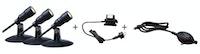 "Heissner SMART LIGHT Starter-Set ""Spot"" 3 Spots + Dämmerungssensor + Transformator (L410-00)"