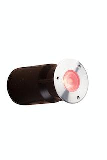 Heissner SMART LIGHT Decklight, 3W, RGB, Edelstahl (L463-00)