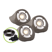 Garden Lights Strahler Lapis 3er Set