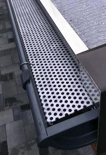 Dachrinnen Laubschutzgitter für Dachrinnenbreite 125 mm (Typ 300) Länge: 125 cm
