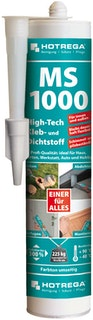 Hotrega MS 1000 High-Tech Kleb- und Dichtstoff versch. Farben