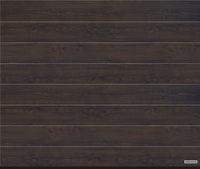 Hörmann Garagentor Sektionaltor LPU42 M-Sicke Decograin Holzdekor Night Oak