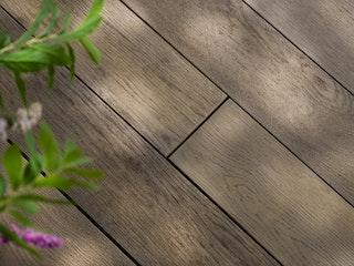 Weltholz millboard Terrassendiele ENHANCED Antique Oak