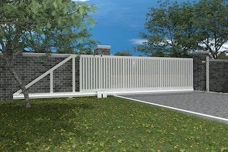 Norport Autoport Slide - automatische Schiebetoranlage Linie 1 Strebendesign
