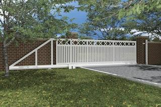 Norport Autoport Slide - automatische Schiebetoranlage Linie 2 Kreuzdesign