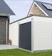 OSMO ALU-Fence Einzelprofil 184 x 1,9 x 14,5 cm