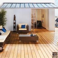 OSMO Terrassendiele mit System Garapa glatt / glatt