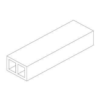 OSMO Terrassen Unterkonstruktion MULTI-DECK grau / dunkelbraun - 40x60 mm