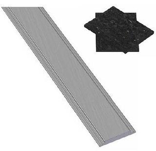 OSMO Nut-Abdeckleiste für Pfosten Typ B 2 Meter