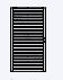 OSMO Sichtblende Rhombus Tor 98 x 179 cm