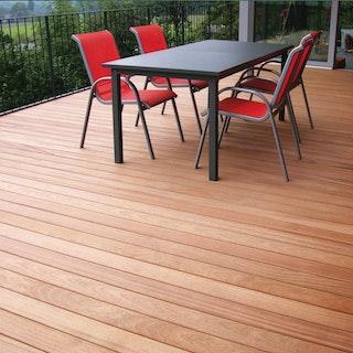 OSMO Terrassendiele Bangkirai glatt / glatt - PREMIUM KD - B-Ware