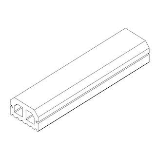 OSMO Terrassen Unterkonstruktion MULTI-DECK braun / grau - 28x50 mm
