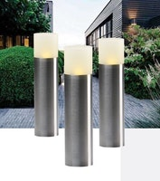 Garden Lights Sockelleuchte Oak 3er Set