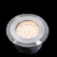 Lightpro Bodeneinbaustrahler Onyx 60 R3 Einbauleuchte Edelstahl 23 lm