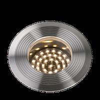 Lightpro Bodeneinbaustrahler Onyx 90 R1 Einbauleuchte Edelstahl 76 lm