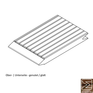OSMO Terrassendiele mit System Bangkirai genutet / glatt - PREMIUM KD